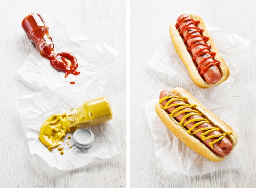 MUSTARD_CATSUP DOG SPREAD