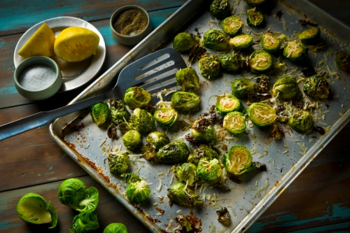LEMON BRUSSEL SPROUTS
